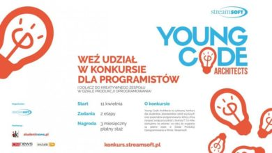 Photo of Young Code Architects – Streamsoft i płatne staże