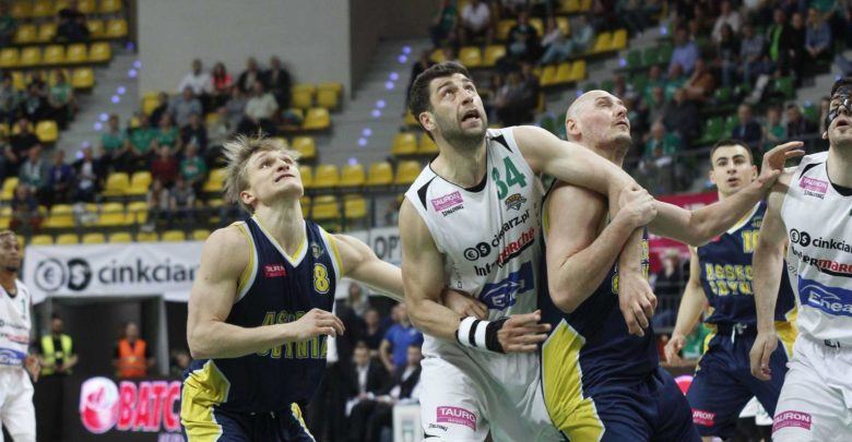 Stelmet BC - Asseco Gdynia 2. mecz play-off