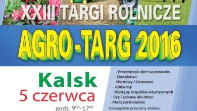 Photo of Rolnicy na start – AGRO-TARG już w weekend