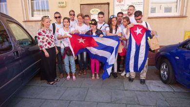 Photo of Młodzież z Kuby przyleciała do Zielonej Góry na ŚDM