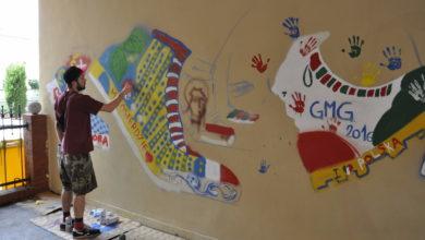 Photo of Nogi idące na Światowe Dni Młodzieży zostały na ścianie