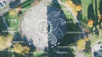 Photo of Betonowe boisko na os. Łużyckim zamieni się w słoneczne miejsce zabaw