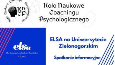 Photo of Stowarzyszenie ELSA i Koło Coachingu Psychologicznego powracają. Pomóż im w pracy na rzecz studentów