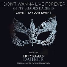Photo of ZAYN/TAYLOR SWIFT – DON'T WANNA LIVE FOREVER (FIFTY SHADES DARKER)