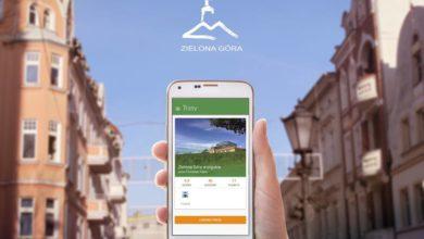 Photo of Po Zielonej Górze z mobilną aplikacją turystyczną