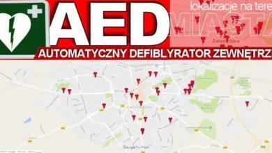 Photo of AED – trzy litery, które pomagają ratować. Defibrylatory w całej Zielonej Górze