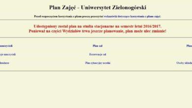 Photo of Plan na semestr letni już dostępny!