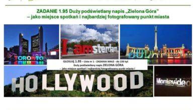 Photo of Gdzie stanie napis Zielona Góra?