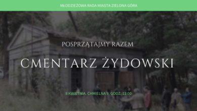 Photo of Młodzieżowa Rada Miasta i społecznicy posprzątają Cmentarz Żydowski
