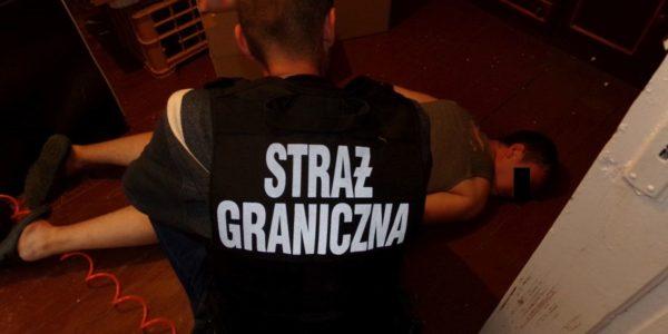 Akcja policji i straży granicznej