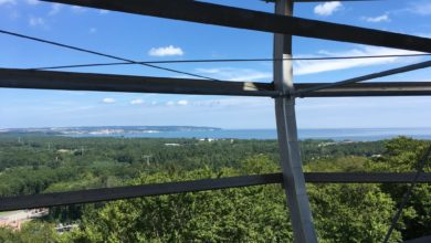 Photo of Z wieży na Rugii widzą morze. Robert Sapa: u nas musi być wyższa. Przynajmniej 50 m