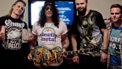 Photo of Wylicytuj gitarę Slasha z Wielką Orkiestrą Świątecznej Pomocy