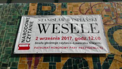 """Photo of """"Wesele"""" czas zacząć. W sobotę Narodowe Czytanie"""