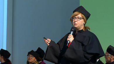 Photo of Prof. Małgorzata Mikołajczak nagrodzona medalem Gloria Artis!