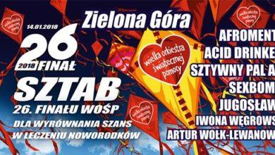 Photo of 26. finał WOŚP: plan małej i dużej sceny, zamknięcie ulicy Kasprowicza