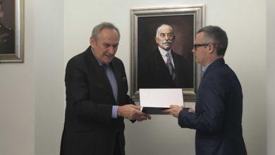Photo of Dr Andrzej Pokrywka w Polskim Komitecie Olimpijskim!
