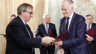 Photo of Prof. Zdrenka wyróżniony