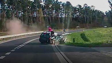Photo of Sprawca potrącenia rowerzystki aresztowany. Wypadek wyglądał fatalnie [wideo]