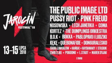 Photo of Jarocin Festiwal 2018. Dzień Pierwszy Festiwalu (program). Mamy dla Was karnety!
