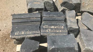 Photo of Znaleziono nagrobki przy Trasie Aglomeracyjnej