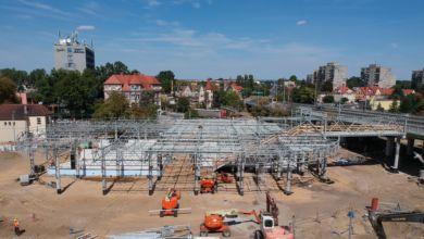 Photo of Centrum Przesiadkowe nabiera kształtów. Zobacz ujęcia z drona