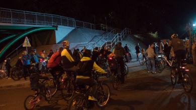 Photo of Nocna Masa Krytyczna: rowerzyści pomknęli jak strzała! Przez Zieloną Strzałę