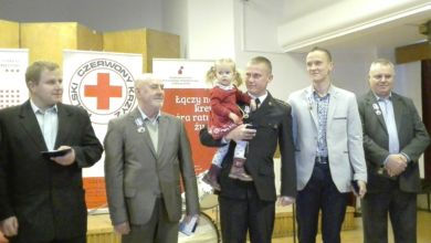 Photo of Honory dla honorowych krwiodawców na jubileuszu PCK