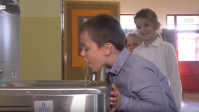 Photo of Zdrowy zdrój dla uczniów z Drzonkowa. Szkoła ma własne poidełka