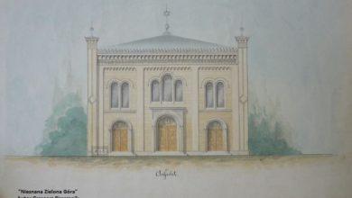 Photo of Synagoga, która nie powstała [Nieznana Zielona Góra]