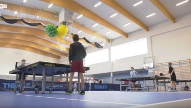 Photo of Z ciasnej salki do przestronnej hali. Szkoła w Ochli ma nowy obiekt sportowy