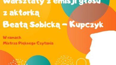 Photo of Warsztaty z emisji głosu w Bibliotece Pana Kleksa