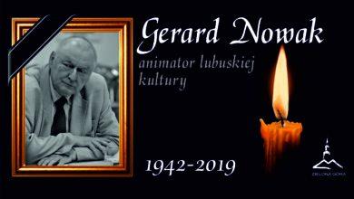 Photo of Zielonogórzanie chcą upamiętnić Gerarda Nowaka