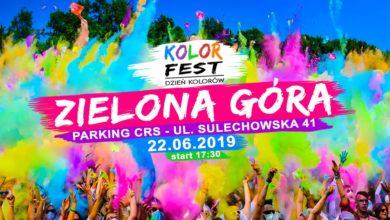 Photo of Kolorowa Zielona Góra – Festiwal Kolorów z wieloma atrakcjami!