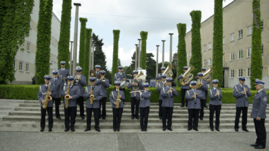 Photo of Policyjna orkiestra zagra dziś na deptaku