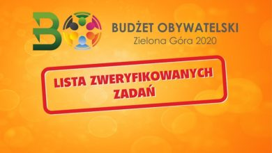 Photo of Pojawiła się lista zweryfikowanych zadań do Budżetu Obywatelskiego 2020