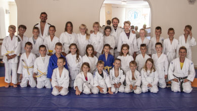 """Photo of Mali judocy szkolą się w """"Jedenastce"""""""