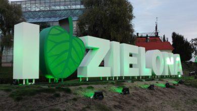 """Photo of """"I love Zielona"""" na zielono. Dla 17 milionów"""