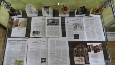 """Photo of """"Książka pisana pikselami"""" – nowa wystawa w Bibliotece Pedagogicznej"""