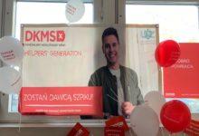 """Photo of """"Podaruj prezent z krwi i kości"""". Studenci rejestrowali się w bazie DKMS"""