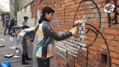 Photo of Koniec akcji 60 godzin z Falubazem. Żużlowcy m.in. zamalowywali bohomazy w centrum