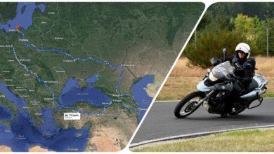 "Photo of ""Motyle na Baku"" czyli samotna podróż na motocyklu"