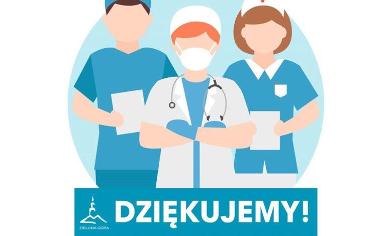 ZIELONA G U00d3RA Oklaski Dla Pracownik U00f3w S U0142u U017cby Zdrowia W Ich