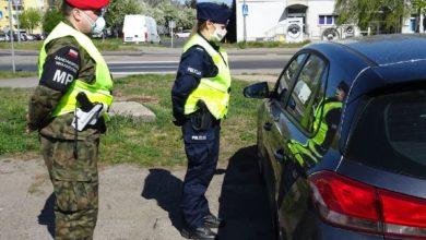 Photo of Żandarmeria i policja na wspólnej służbie w powiecie