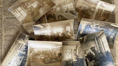 Photo of Nieznane zdjęcia i historia drukarni [Nieznana Zielona Góra]