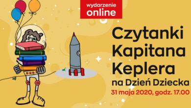 Photo of Dzień Dziecka w planetarium: Kapitan Kepler zaprasza na wirtualne czytanki!
