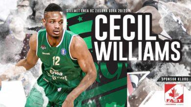Photo of Cecil Williams nowym koszykarzem Stelmetu