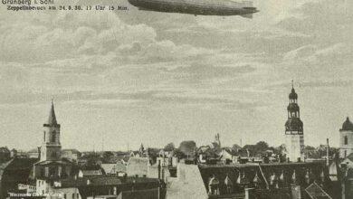 Photo of Zeppelin nad Grünbergiem [Nieznana Zielona Góra]