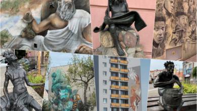 Photo of Poszukajmy sztuki na ulicy – chodźmy szlakiem murali i bachusików! [Visit Zielona Góra]