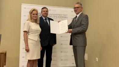 Photo of Nowy rektor UZ odebrał nominację na stanowisko