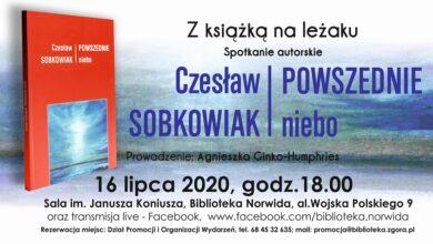 """Photo of Popatrzmy w """"Powszednie niebo"""" z Czesławem Sobkowiakiem. Dziś spotkanie z poetą"""